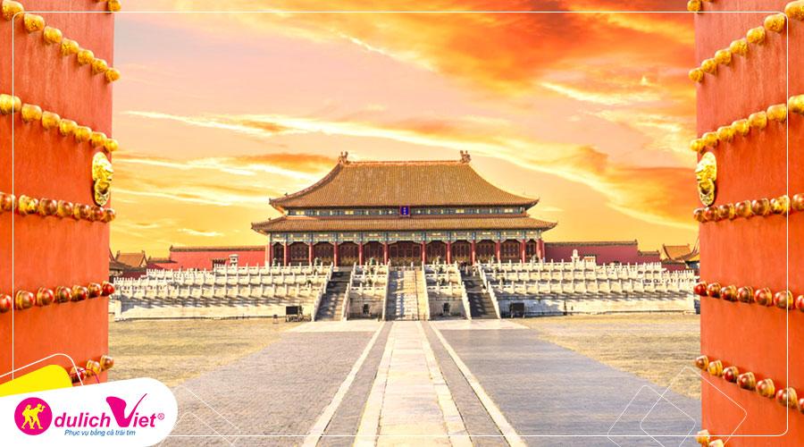 Du lịch Trung Quốc mùa Thu Bắc Kinh - Thượng Hải - Hàng Châu - Tô Châu từ Sài Gòn