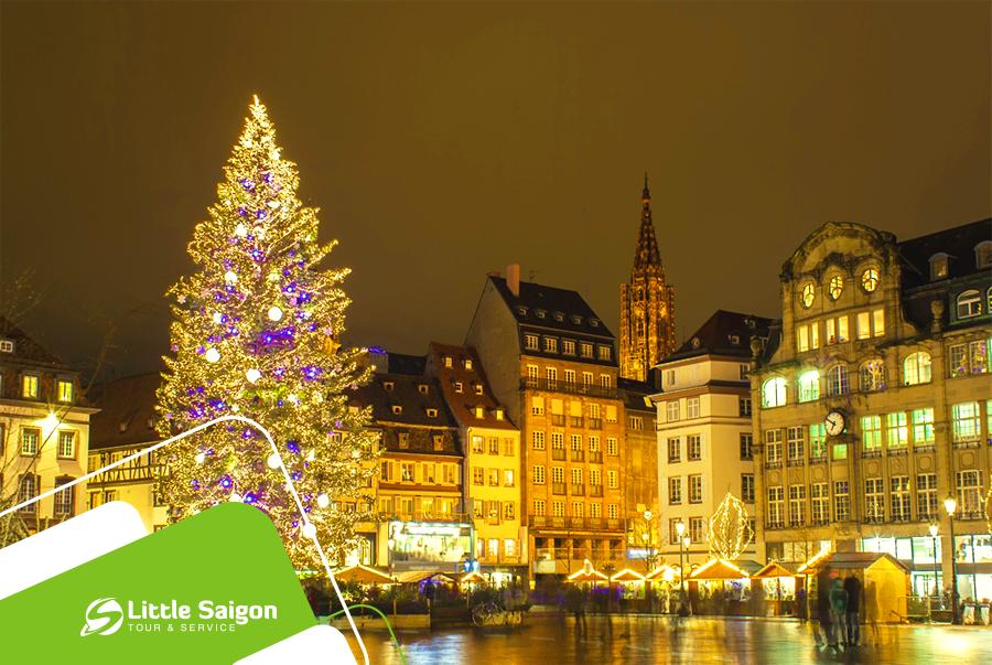 Du lịch Châu Âu - Đức - Hà Lan - Bỉ - Pháp - Lux dịp Noel từ Sài Gòn giá tốt