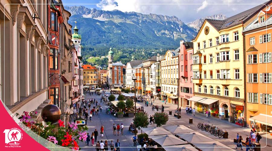Du lịch Châu Âu Pháp - Thụy Sĩ - Liechtenstein - Áo - Đức từ Sài Gòn