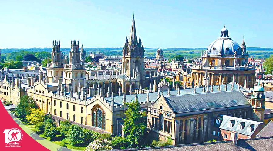 Du lịch Anh - London - Oxford - London khởi hành từ Sài Gòn giá tốt