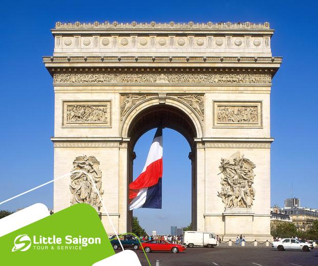 Du Lịch Châu Âu - Pháp - Luxembourg - Bỉ - Hà Lan mùa Thu từ Sài Gòn giá tốt