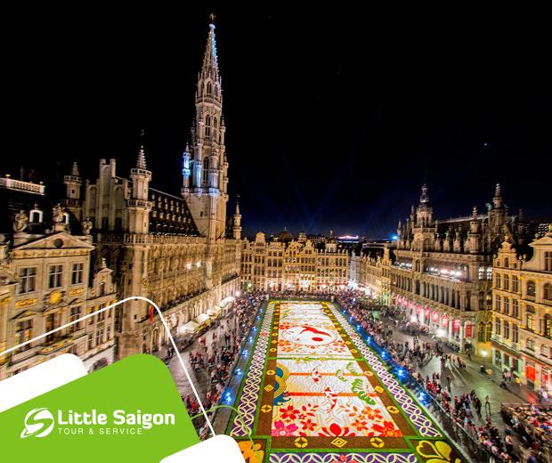 Du lịch Châu Âu - Pháp - Luxembourg - Bỉ - Hà Lan - Đức mùa Thu khởi hành từ Sài Gòn giá tốt