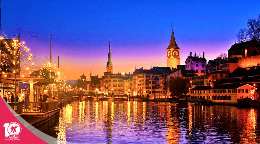 Du lịch Châu Âu - Pháp - Thụy Sĩ - Ý - Vatican - Monaco dịp Noel từ Sài Gòn giá tốt