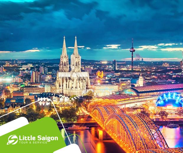 Du lịch Châu Âu - Đức - Hà Lan - Bỉ - Pháp - Lux - Đức từ Sài Gòn giá tốt 2018