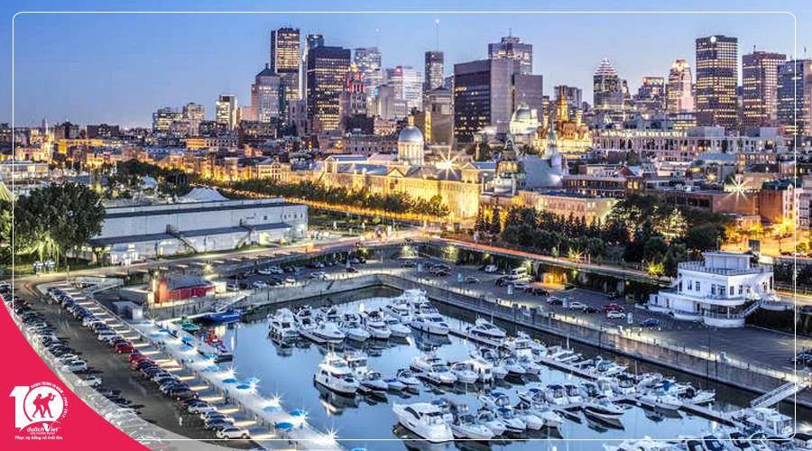 Du lịch Canada - Tour bờ Đông Canada Toronto - Ottawa - Montreal - Quebec từ Sài Gòn