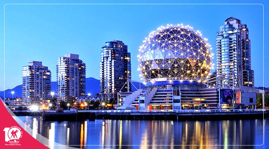 Tour du lịch Canada mùa Hè Vancouver - Victoria Island từ Sài Gòn giá tốt 2019