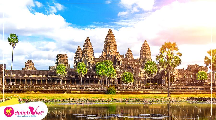 Du lịch Campuchia - Siêm Riệp - Phnompenh giá tốt khởi hành từ Hà Nội