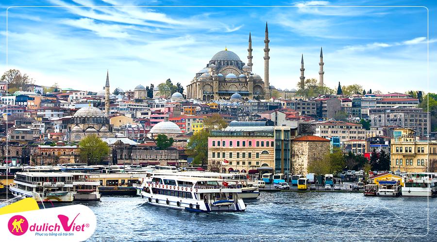 Du lịch Thổ Nhĩ Kỳ mùa Thu 5 sao giá tốt từ Hà Nội