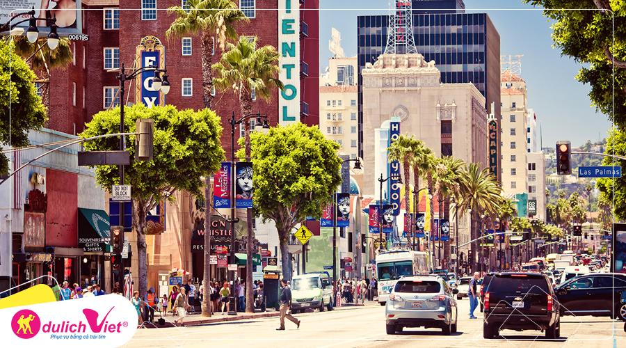 Du lịch bờ tây Hoa Kỳ: Los Angeles - Las Vegas 7 ngày khởi hành từ Hà Nội
