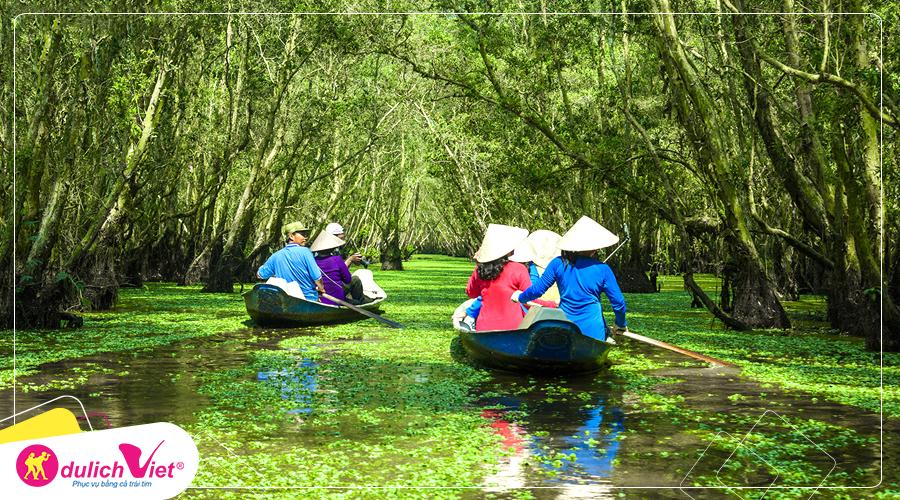 Du lịch miền Tây mùa nước nổi 4 ngày 3 đêm khởi hành từ Hà Nội 2019