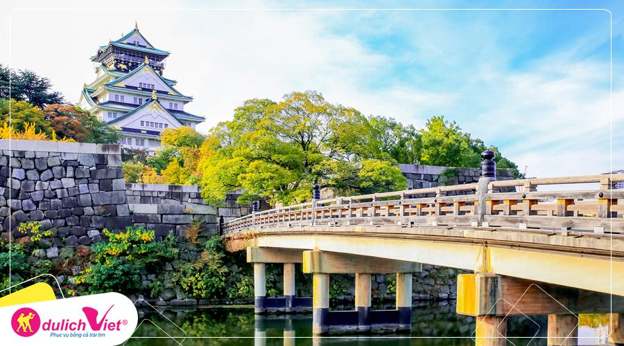 Du lịch Nhật Bản hè Osaka – Kyoto - Awaji - Nara từ Hà Nội giá tốt