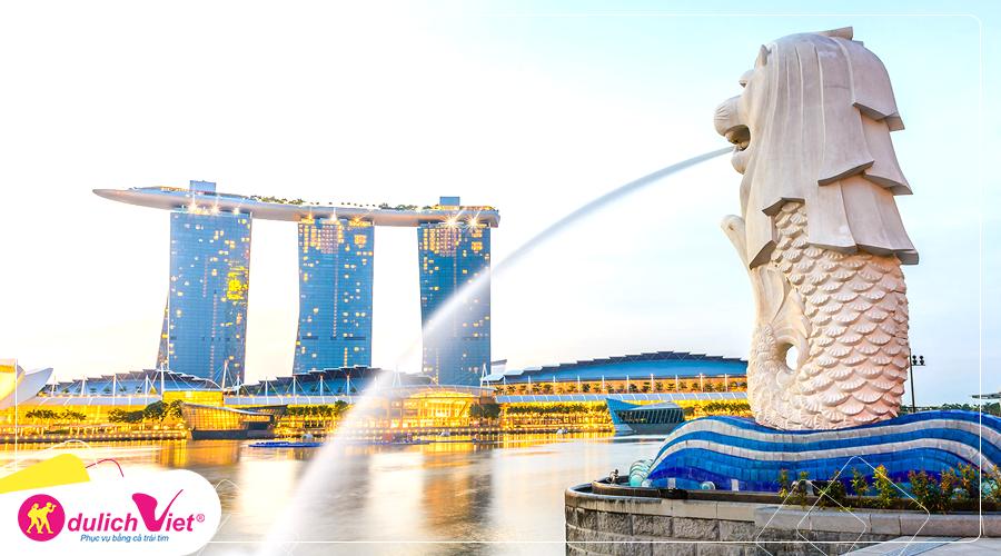 Du lịch Singapore mùa Hè - Sentosa - Garden By The Bay từ Hà Nội giá tốt