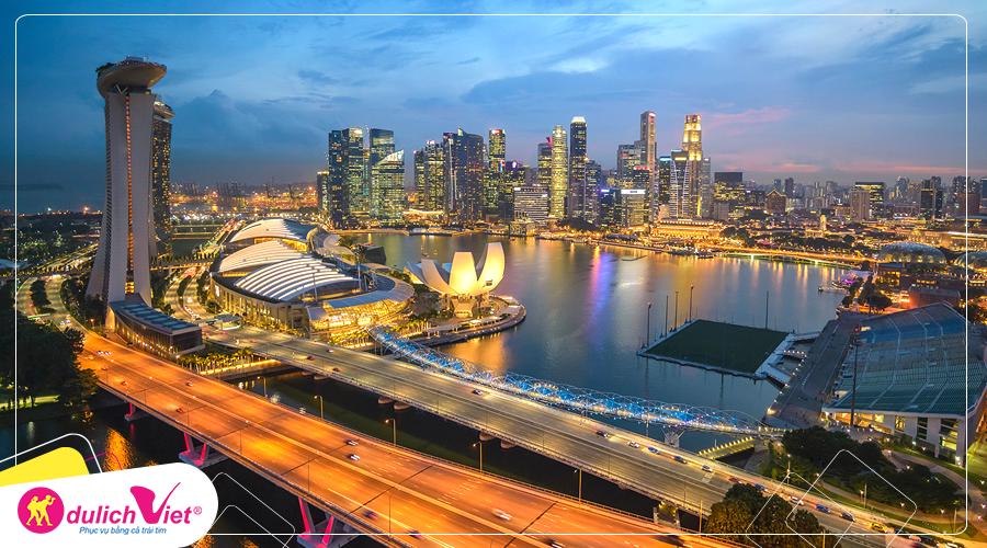 Du lịch Singapore mùa Thu khởi hành từ Hà Nội giá tốt 2019