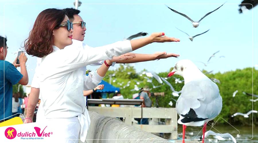 Tour Thái Lan Bangkok - Pattaya mùa Thu 5 ngày khởi hành từ Hà Nội 2019