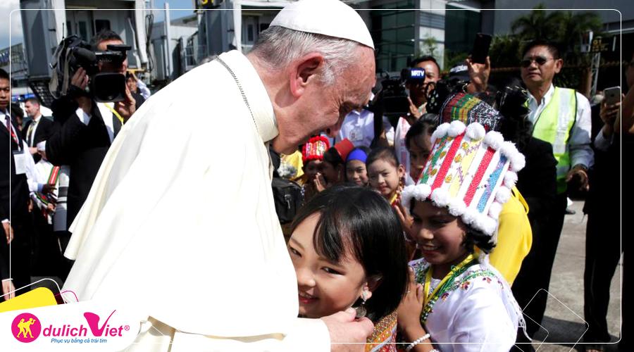 Hành Hương Thái Lan Đồng Hành Cùng Đức Giáo Hoàng Phanxico từ Hà Nội