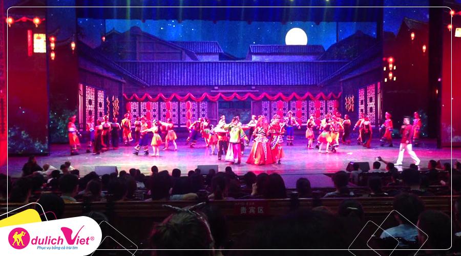 Du Lịch Trung Quốc Tết Canh Tý 2020 Trương Gia Giới - Phượng Hoàng Cổ Trấn từ Hà Nội