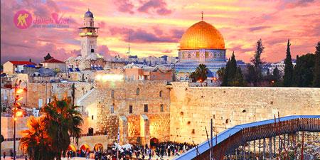 Hành Hương Israel - Về Miền Đất Thánh - Theo Bước Chân Giê-su 2017