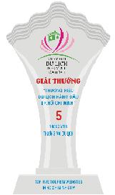 Giải thưởng Top 5 website thương mại điện tử du lịch hàng đầu