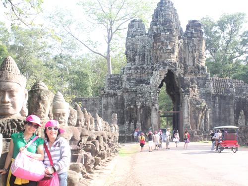 Cảm nhận khách hàng sau khi đi tour Campuchia ngày 26/06/2014