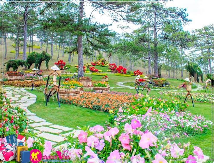 Tour Đà Lạt - Khám Phá Vườn Rau Thuỷ Canh 3 ngày Tết Dương Lịch 2018