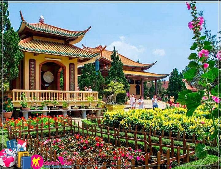 Tour Nha Trang - Đà Lạt 5 ngày giá tiết kiệm đi từ Sài Gòn (T12/2017)