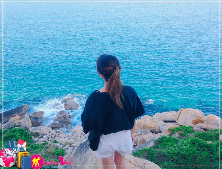 Du lịch Miền Trung - Nha Trang - Đảo Bình Hưng - Vườn Nho mùa Thu 2017