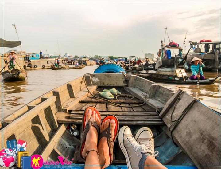 Du lịch Miền Tây - Du lịch Mỹ Tho - Cần Thơ - Chợ nổi Cái Răng Hè 2017