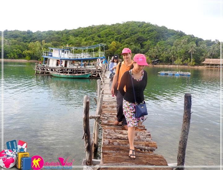 Du lịch Miền Tây - Quần Đảo Bà Lụa - Hà Tiên - Rừng Trà Sư 2 ngày 2 đêm Hè 2017