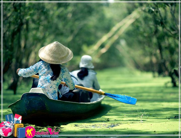 Du lịch Miền Tây - Tour Đảo Bà Lụa - Hà Tiên - Rừng Trà Sư 2 ngày (T11/2017)
