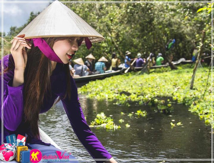 Du lịch Miền Tây - Du lịch Châu Đốc - Rừng Tràm Trà Sư 3 ngày giá tốt (T11/2017)