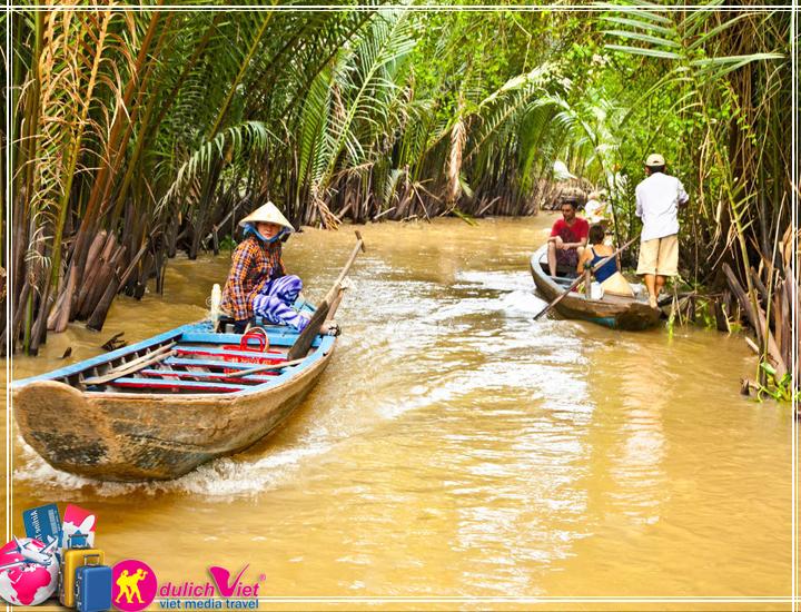 Du lịch Miền Tây 1 ngày tát mương bắt cá giá tốt mùa thu 2017