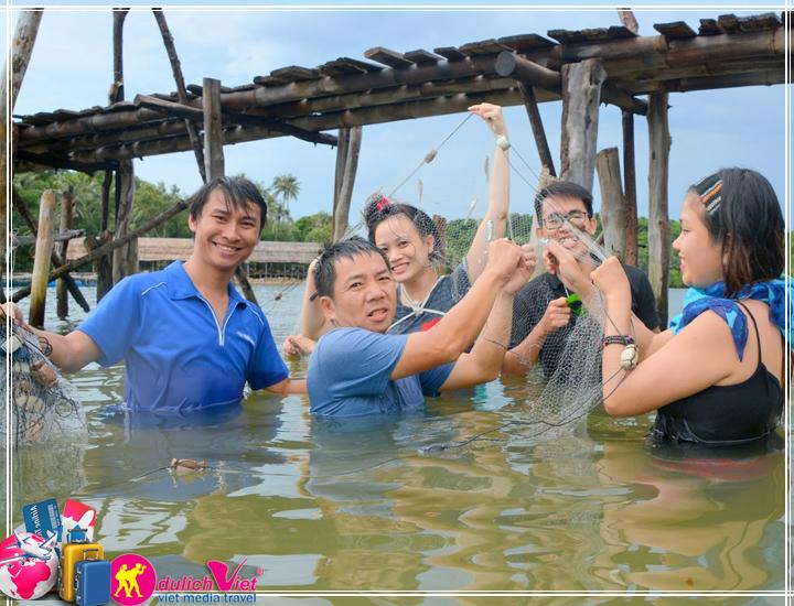 Du lịch Quần Đảo Bà Lụa - Hà Tiên - Rừng Trà Sư 2 ngày mùa Thu 2017