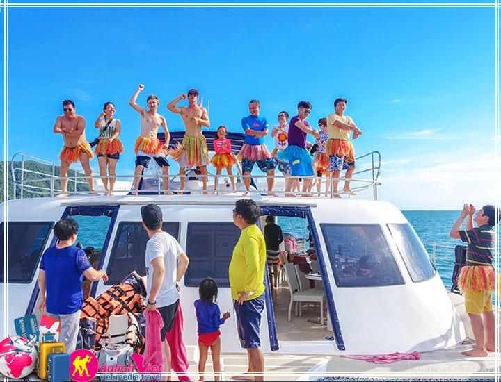 Du lịch Phú Quốc 3 ngày 2 đêm khởi hành mùa Thu 2017 bay từ Sài Gòn