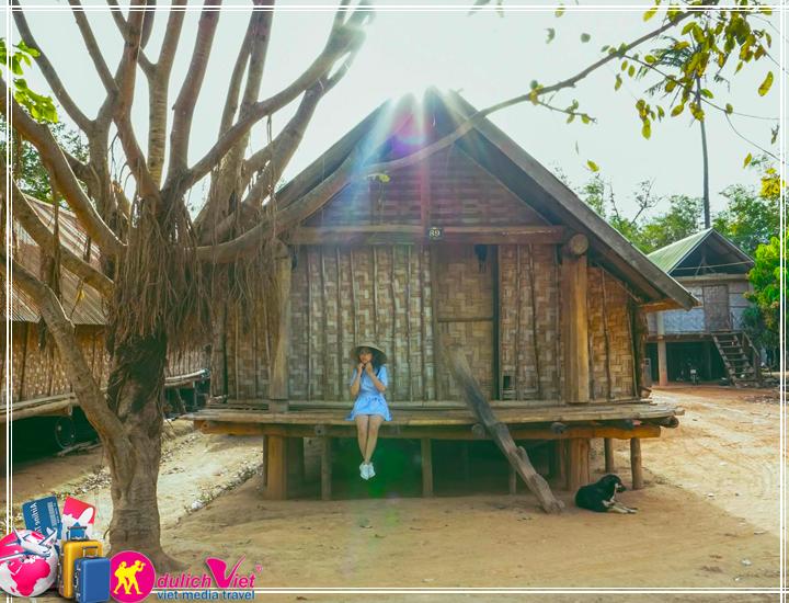 Du Lịch Tây Nguyên - Buôn Ma Thuột - Thác D'ray nur - Buôn Làng Ê Đê mùa Thu 2017