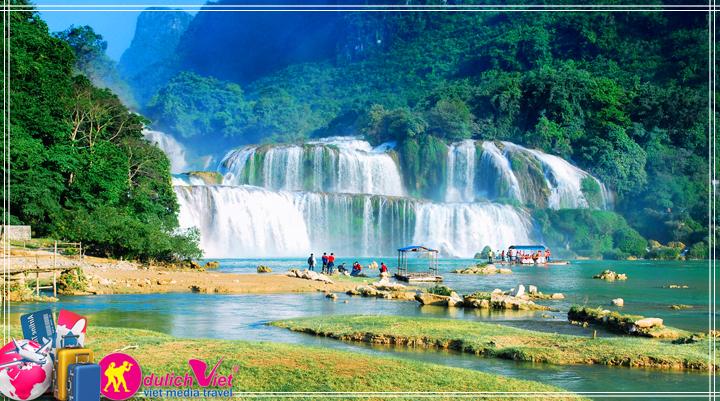 Du lịch Miền Bắc - Đông Bắc - Sài Gòn - Bắc Cạn - Hang Pắc Bó - Thác Bản (T1/2015)