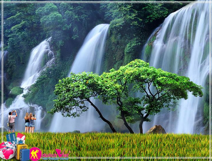 Du Lịch Miền Bắc - du lịch Đông Bắc - Thác Bản Giốc - Lạng Sơn 5 ngày Tết Âm Lịch 2017