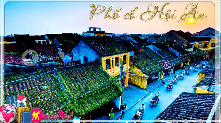 Du lịch Miền Trung - Hội An - Tắm Bùn Khoáng từ Sài Gòn (T3/2016)