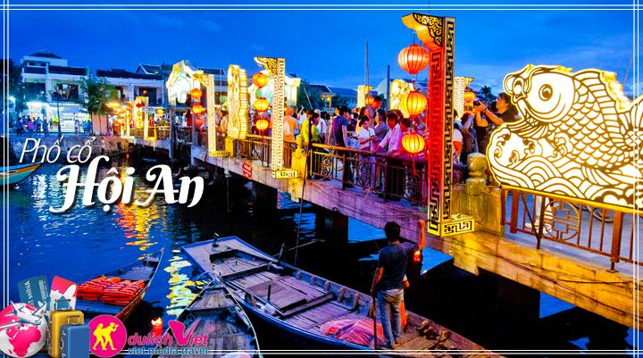 Du lịch Miền Trung - Hội An - Khu du lịch Bạch Mã Huế 4 ngày (T10/2016)