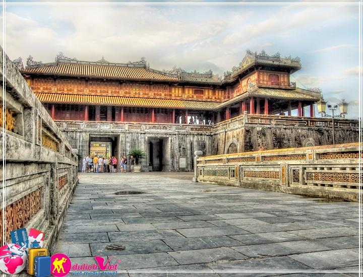 Du lịch Miền Trung - Thiên Đường 5N4Đ khuyến mãi Vietnam Airline