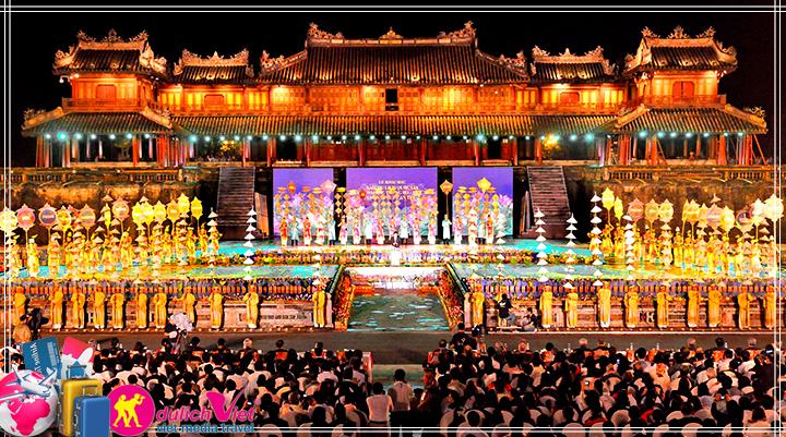 Du lịch Miền Trung - Phong Nha tham dự festival Huế 2016