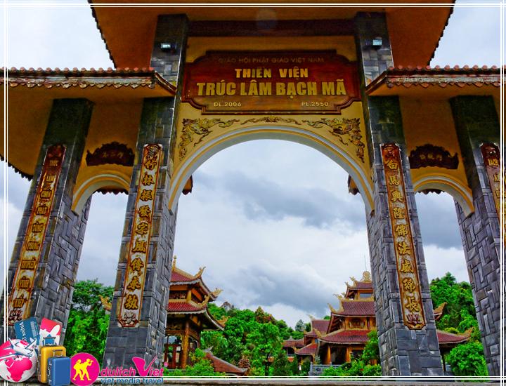 Du lịch Miền Trung - Khu du lịch Bạch Mã 4 ngày dịp Tết Nguyên Đán 2017