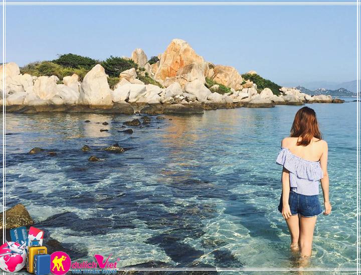 Du lịch Cam Ranh - Đảo Bình Ba 2 ngày 2 đêm khởi hành Tết âm lịch 2017
