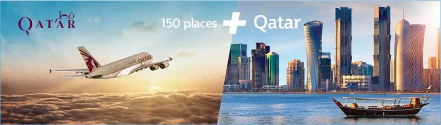 Qatar Airways Air ưu đãi 30% dành cho hạng ghế thương gia