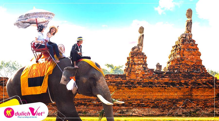 Du lịch Thái Lan - Bangkok - Pattaya tặng massage Thái cổ truyền giá tốt