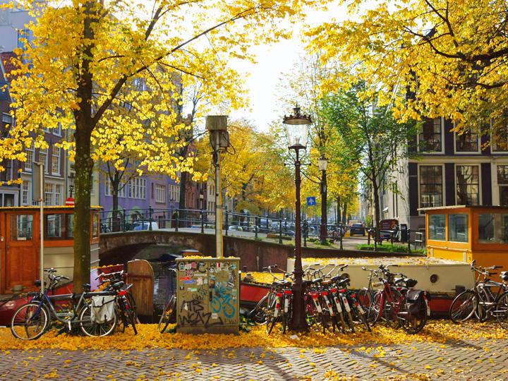 Một thoáng Châu Âu mùa thu