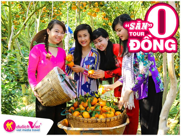 Du Lịch Việt dành tặng 1000 tour 0 đồng cho du khách
