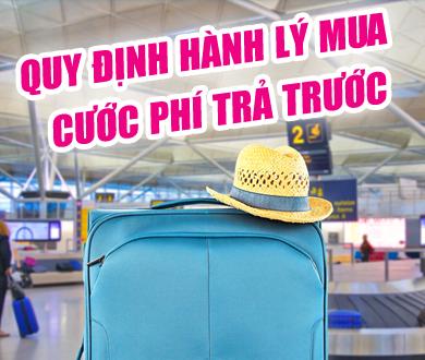 Hành lý mua cước phí trước