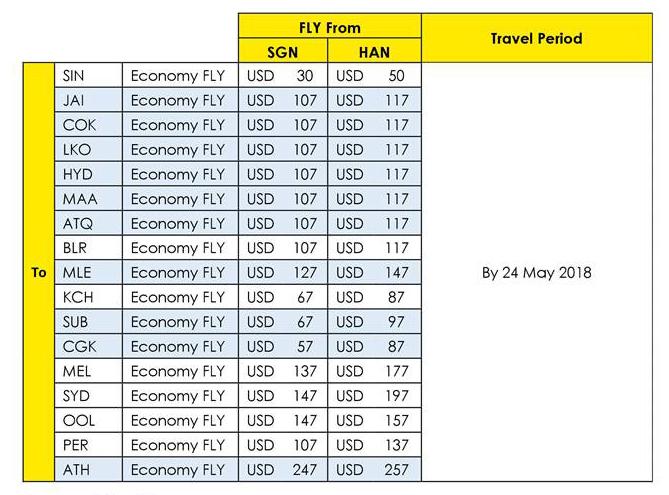 Scoot Air khuyến mãi bay Singapore và 16 điểm khác chỉ từ 30USD