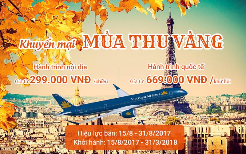 Vietnam Airlines khuyến mãi đặc biệt