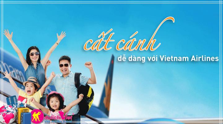 Vé Máy Bay Vietnam Airlines từ Sài Gòn đi Phú Quốc